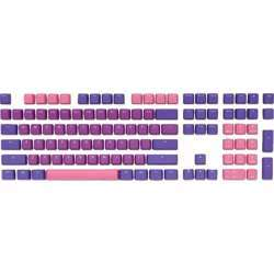 Ducky 108 Key Pbt Seamless 3 Color Keycaps Set Doubleshot Gaming Keyboard - Ultra Violet