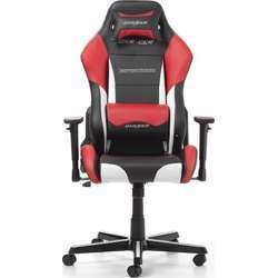DXRacer Drifting Series Newedge Edition Racing Bucket Seat, Esports Gaming Chair With Pillows - Black/White/Red