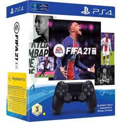 EA Sports Fifa 21 - Ps4 + Dualshock 4 Wireless Controller + 14 Days Ps Plus