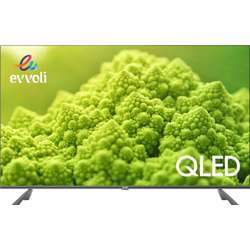 Evvoli 50 Inch 4K Qled Android Smart Tv 2020 Model, 16:9 Aspect Ratio 3840X2160 Display Resolution, 16 Gb, Android Pie Operating System Version, Black