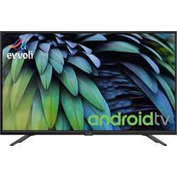 Evvoli 43 Inch Full Hd Digital Android Tv Led Fhd, New 16:9 Aspect Ratio, 1920X1080 Fhd, 8 Gb, 64 Bit, 1.5 Ram Size Android Operating System