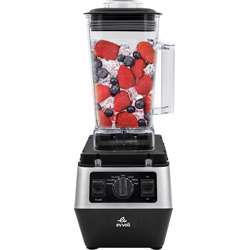 Evvoli Commercail Blender 2200W Ice Crusher, 3 Speed Control, 2L, 2 Years Warranty - Black