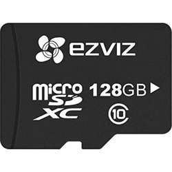 Ezviz 128Gb Sd Card For Security Camera, Quick Read Speeds Of Up To 90Mb/S, Microsd Uhs-I Card Class 10