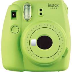 Fujifilm Instax Instant Camera + 1 Pack - Lime Green