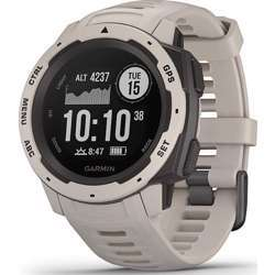 Garmin Instinct GPS Watch With Heart Rate Monitor/3-Axis Compass Tundra