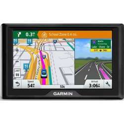 Garmin Drive 50 Usa Lm Gps Navigator System With Lifetime Maps, Spoken Turn-By-Turn Directions, Direct Access, Driver Alerts, And Foursquare Data Drive