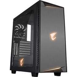 Gigabyte Gb-Ac300W Lite Transparent Full Side Panel Window (Acrylic) Mid Tower Computer Chassis Gb-Ac300W