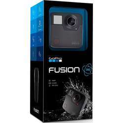 GoPro Fusion — 360 Waterproof Digital VR Camera with Spherical 5.2K HD Video 18MP Photos Fusion