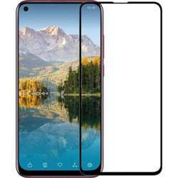 Huawei Nova 4 6.4Inch 3D Curved Full Screen Coverage, Premium Tempered Glass Screen Protector For Nova 4 With Frame -