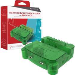 Hyperkin Retron S64 Console Dock For Switch - Lime Green