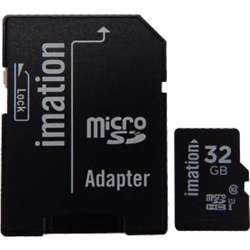 Imation Yp030700543 Microsd, Class 10, Adapter 32Gb, Sdhc, High Transfer And Write Speeds