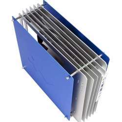 In Win H-Frame Open Air Design, Blue + Silver Atx Chassis