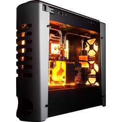 In Win 915 Rgb, E-Atx Full Tower With Usb 3.1 Gen2 Type-C , Aluminium Body And Tempered Glass, With Top Cover Ventilation & Led Lighting Controls, Silver