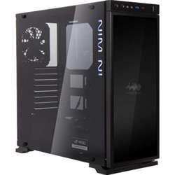 In Win 805 Infinity Black Aluminum/Tempered Glass Atx Mid Tower Case