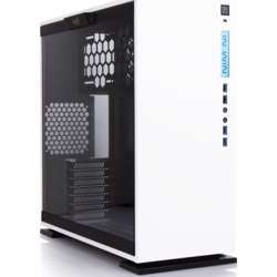 In Win 303 White Atx Mid Tower Computer Case With Tempered Glass, White