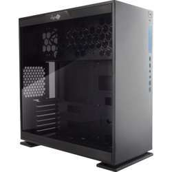 In Win Case 303 Atx Mid Tower Computer Case With Tempered Glass Black