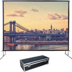 """I-View Fast Fold Projector Screen 200"""" 16:9 Front And Rear Fabric 442 X 278 cms"""