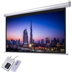 """I-View Electrical Projector Screen 120"""" 16:10 Format with Remote"""