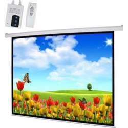 I-View E180 Electrical Screen with Remote Control 180x180 cms