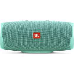 JBL Charge 4 Waterproof Portable Bluetooth Speaker With 20 Hour Battery, 7,500Mah - Teal