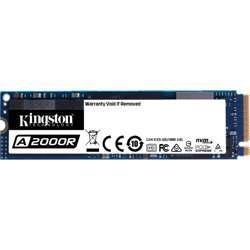 Kingston 250Gb A2000 M.2 2280, Nvme Internal Ssd Pcie Up To 2000Mb/S With Full Security Suite