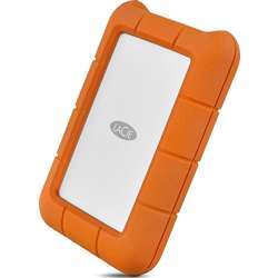 LaCie Stfr5000800 5 Tb Rugged Mini Usb 3.1 (Usb-C + Usb 3.0) Portable 2.5 Inch Shock, Drop And Crush Resistant External Hard Drive For Pc And Mac