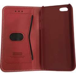 LEEU Design IPHONE 5 / 5s Cover Leather Case Red
