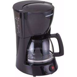 Black+Decker 800W 10 Cup Coffee Maker with 1.25L Glass Carafe and Keep Warm Feature for Drip Coffee and Espresso, DCM600-B5 Black preview
