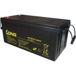 Long Wpg200-12An, 200Ah, 12V Rechargeable Sealed Lead Acid Battery