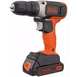 Black+Decker BCD001C2K-GB Drill Driver 18V + 2 x 1.5Ah Battery preview
