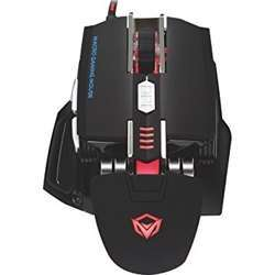 Meetion Usb Corded Gaming Mouse - Black And White