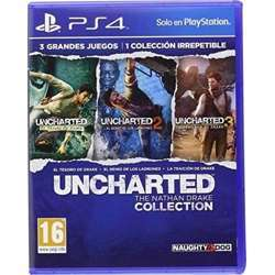 Naughty Dog Uncharted The Nathan Drake Collection PlayStation 4 By Naughty Dog
