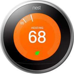 Nest Learning Thermostat 3rd Gen - Stainless Steel