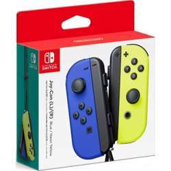 Nintendo Switch Left and Right Joy-Cons - Neon Blue and Neon Yellow