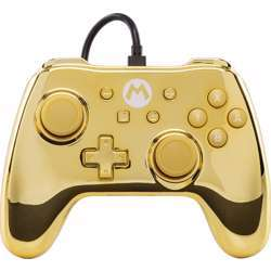 Nintendo Chrome Edition Mario Switch Controller Wired