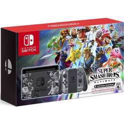 Nintendo Switch Console Super Smash Bros. Ultimate Edition - Switch