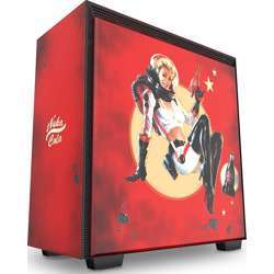 NZXT H700 Nuka-Cola - Limited Edition Mid-Tower Atx Computer Case - Red/Blue