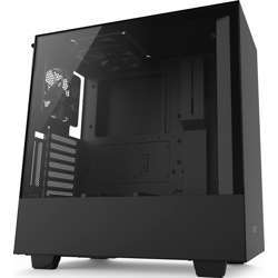 NZXT H500I Atx Mid Tower - Tempered Glass Window - Compact Pc Gaming Case - Matte Black