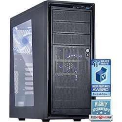 NZXT Ca-S220W-B4 Source 220 Mid Tower Case (2*White LED)