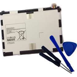 Powerforlaptop Tablet Replace EB-BT550ABE Battery + Repair tools For Samsung Galaxy Tab A 9.7-Inch Tablet