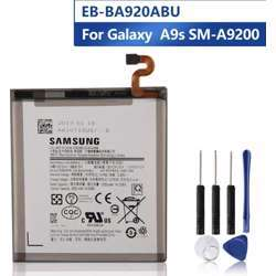 7thStreet - Replacement Phone Battery EB-BA920ABU For Samsung Galaxy A9s SM-A9200 A9200 2018 Version A9 A920F Battery 3800mAh + Open Tools