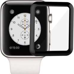 Green 3D Full Glass Screen Protector 44Mm For Apple Watch 3/4/5 - Black
