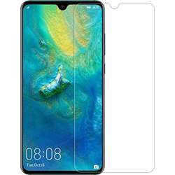 Mili Screen Protectors Flex-Screen Protector, 9H Surface Hardness Hd Transparent Glass, Bubble Free, Anti Scratch, Anti-Oil Coating, Size: 6.39'''' Compatible With Huawei Mate 20 Pro - Glass