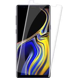 Mili Screen Protectors Flex-Screen Protector, 9H Surface Hardness Hd Transparent Glass, Bubble Free, Anti Scratch, Anti-Oil Coating Compatible With Samsung Note 9 - Glass