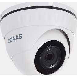 Ozaas 2 Mp Dome Ip Camera, 3.6Mm Fixed Lens, Ir Distance 20M, Ip66, Outdoor Metal Case, 3Mp Pixel, 20M Infrared Distance