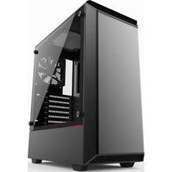 Phanteks Eclipse P300 Mid Tower Case- Tempered Glass, Black
