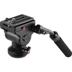 Promage Video Camera Tripod, Action Fluid Drag Pan Head Hydraulic Panoramic Photographic Head, Ds008H - Black