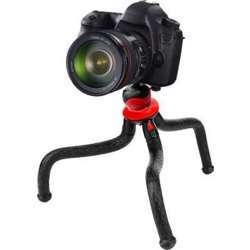 Promage Flexible Tripod With Ball Head Black, Max Load 800G, Conviently Folds