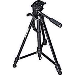 Promage Camera Tripod, Fully Telescopic 3 Section Legs, 3-Way Head, Quick Release Platform