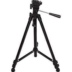Promage Tripod Digital Camera, Fully Telescopic 3 Section Leg, Quick Release Platform, Built In Level